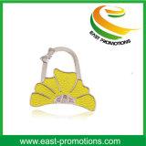 Förderung-Geschenk-Form-Metallfaltbare Perse Beutel-Aufhängung