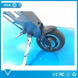 2017 elegante de la batería de litio Motor eléctrico de cercanías de la vespa de la bici con las ruedas de 10 pulgadas