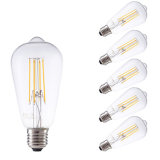 luz del filamento del bulbo de 4W St48 LED Edison