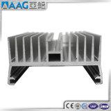 6063-T5によって陽極酸化されるアルミニウムラジエーター脱熱器