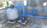 Верхний фильтр песка стеклоткани плавательного бассеина держателя