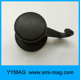 Qualitäts-Plastikgummi-überzogene magnetische Haken