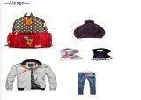 カスタム編まれたラベルの衣類は衣服のブランド・ラベルを分類する