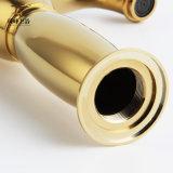 Kies Mixer van het Bassin van de Lamp van het Messing van de Luxe van het Handvat de Gouden Magische (uit zf-M27)