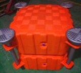 ブロー形成項目の浮遊立方体
