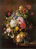 ホームDecoの十分に印刷された塗る安いキャンバスの芸術の花シリーズモデルNOをカスタム設計してはいけない: Hx-4-056
