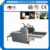 Máquina de estratificação quente do papel Semi auto da película