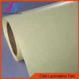 Protezione fredda di colore giallo della pellicola della laminazione