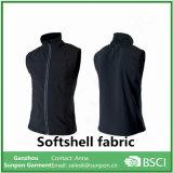 Veste durável de Softshell da alta qualidade em Balck