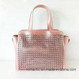 ブランドデザイナー粋な様式PUレーザーの女性のハンドバッグ(NMDK-040502)