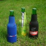 ネオプレンによって絶縁されるビール飲料の徳利立ての飲み物のびんのクーラー(BC0003)