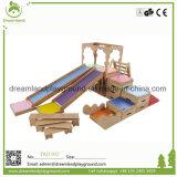 Cour de jeu d'intérieur utilisée par jeu mou en bois chaud de vente à vendre