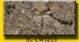 Calacattaの水晶石の平板からの人工的な水晶カウンタートップ