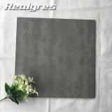 型の暗い灰色の具体的なセメントの無作法な非スリップによって艶をかけられる磁器の床タイル