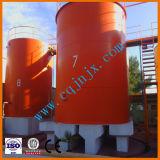Usine de régénération d'huile moteur à déchets