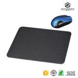 Tapis de souris en fibre de carbone authentique d'arrivée de produit 2017 en Moise Pads avec Mousemat Logo