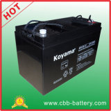 Batterie 120ah 12V de système d'alimentation solaire de batterie d'accumulateurs de pouvoir de longue vie