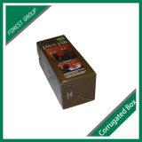 Caixa de papel feita sob encomenda de cartão ondulado da impressão para o feijão de café