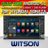 ヒュンダイのソナタ(W2-F9900y)のためのWitsonのアンドロイド5.1車DVD