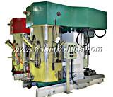Mezclador dual de Dissolver del dispersor del eje del vacío