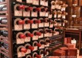 Подгонянный сбор винограда погреб погреб твердой древесины винный для домашней деревянной мебели
