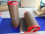 Banda transportadora sin fin de la fibra de vidrio de PTFE