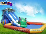 Parque movente da água, parque movente da terra, parque da associação do frame, parque movente inflável