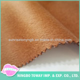 Tecido de lã orgânica com revestimento duplo grosso para casacos