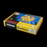 Protectores plásticos del animal doméstico de Snes N64 del juego del rectángulo de los juegos transparentes claros de Cib para los rectángulos del juego de Nintendo