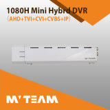 1080h Ahd Tvi Cvi Cvbs IP-Mischling 4CH HD Mini-DVR