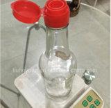 500ml透過無鉛ガラスソースびんのゴマ油のびん