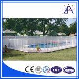 Poste en aluminium de la frontière de sécurité T de frontière de sécurité bon marché de bétail de qualité, frontière de sécurité de piscine