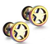 Fashion 316L en acier inoxydable bijoux en étoile Ear Stud / Earring