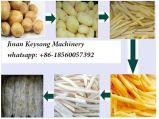 Pommes chips automatiques faisant la machine