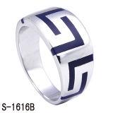 Jóias de moda New Designs 925 Silver Men's Band Rings