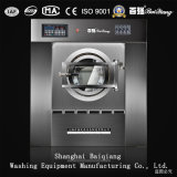 150kg de volledig Automatische Trekker van de Wasmachine van de Wasserij Overhellende
