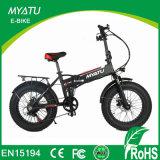 大きい男の子タイヤによって隠される電池の電気折るバイクかEbike脂肪質の折るFatbike