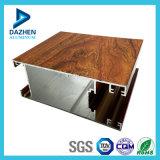 Personalizado 6063 de la aleación de aluminio de extrusión de aluminio de perfil con colores opcionales
