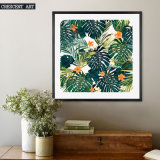 Cycas 벽 예술 회귀선 꽃 화포 인쇄