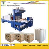 Máquina automática de embalagens de redução automática de filme completo / máquina de embalagem de encolhimento
