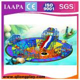 Die meisten populäres Ozean-Thema kundenspezifischen weichen Spielplatz-Geräte (QL--094)