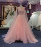 Alineada de boda de princesa Hot Sale Cheap Pink