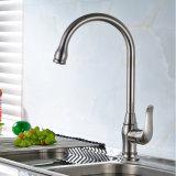 Rubinetto di acqua del bacino della cucina con la singola maniglia