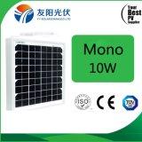 世帯の電気機器のためのBeautyfulの出現10Wのモノラル太陽電池パネル