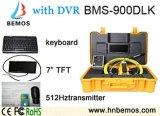 Macchina fotografica calda della strumentazione di controllo del tubo per fognatura con la funzione della registrazione di DVR