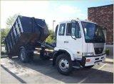 Sinotruk 371HP 30ton 짐은 유압 Hyva를 가진 트럭을 복사한다
