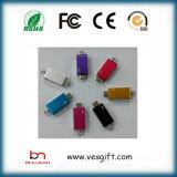 Clave de destello del USB del mecanismo impulsor de la pluma del USB de la insignia de DIY OTG