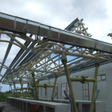 Costruzioni d'acciaio della costruzione del metallo dell'Isola Maurizio per il servizio moderno
