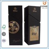 Напечатанная таможней коробка трудного вина картона упаковывая