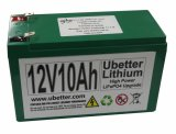 Batería recargable de 12V10ah LiFePO4 con alta corriente de descarga